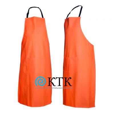Фартук с карманами оранж